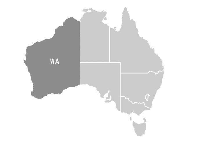 WA州(ウエスタンオーストラリア州・州都パース)