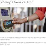 シドニーの交通ICカード、Opalカードに関するニュース