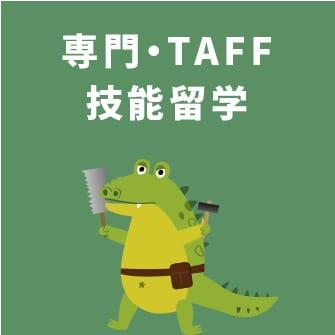 専門・TAFF技能留学