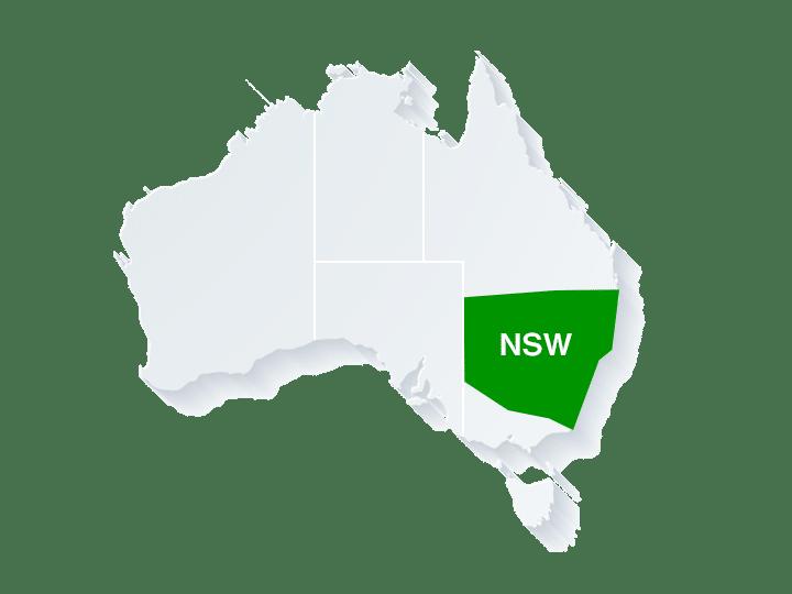 NSW州(ニューサウスウェールズ州・州都シドニー)